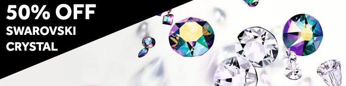 50% Off Swarovski Crystal at JewelrySupply.com