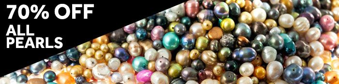 70% Off Pearls at JewelrySupply.com