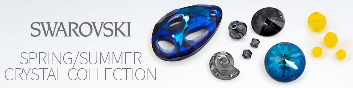 Save 50% off the new Swarovski Spring Summer Crystal Collection