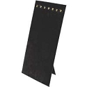 Chain Board 7 Hooks Black Velvet