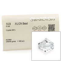 Swarovski 5328 6mm Crystal Bicone Bead (Factory Pack of 360)