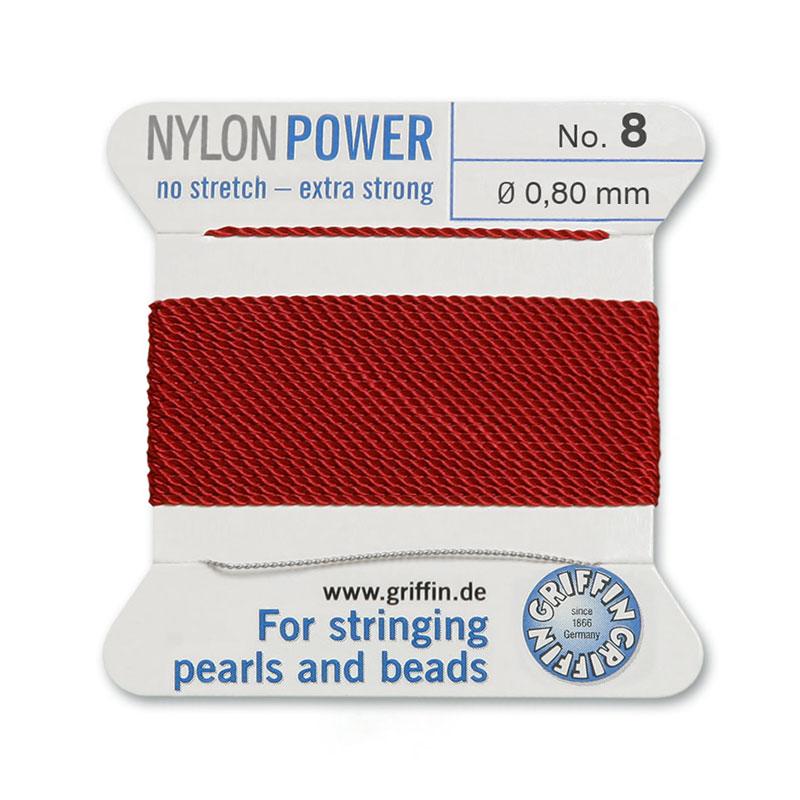 Silk Nylon Bead Cord 95