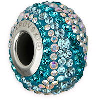 Swarovski BeCharmed Pavé 82033 14.5mm Water Bead (1-Pc)