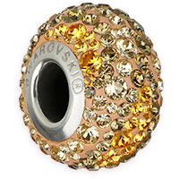 Swarovski BeCharmed Pavé 82013 14.5mm Earth Bead (1-Pc)