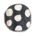 Batik Coin Bone Bead 20mm (1-Pc)