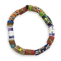 Krobo Tribe SandCast Stretch Bracelet (1-Pc)
