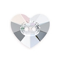 Swarovski Heart Button 3023 14mm Crystal AB (1-Pc)