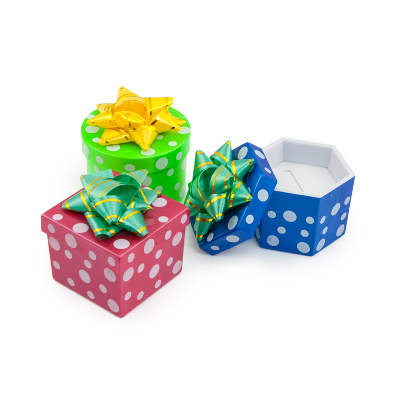 Ring Gift Boxes Wholesale Mini Hat Boxes Assorted