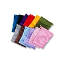 Satin Pouch Small Assorted Color Mix (12-Pcs)