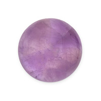 20mm Dogtooth Amethyst Round Cabochon