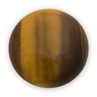 25mm Brown Tiger Eye Round Cabochon