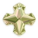 Swarovski Greek Cross Pendant 6867 28mm Crystal Luminous Green (1-Pc)