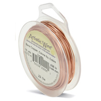 Artistic Wire 22ga Bare Copper (15 Yards)