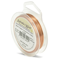 Artistic Wire Bare Copper 26ga (30 Yards)