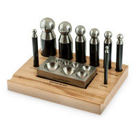 8 Piece Dapping Punch Set with Stand
