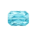 Swarovski Emerald Cut Bead 5515 18x12mm Aquamarine (1-Pc)