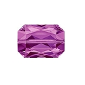 Swarovski Emerald Cut Bead 5515 18x12mm Amethyst (1-Pc)
