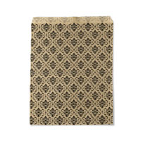 Gift Bag Damask Print 6x9 (100-Pcs)