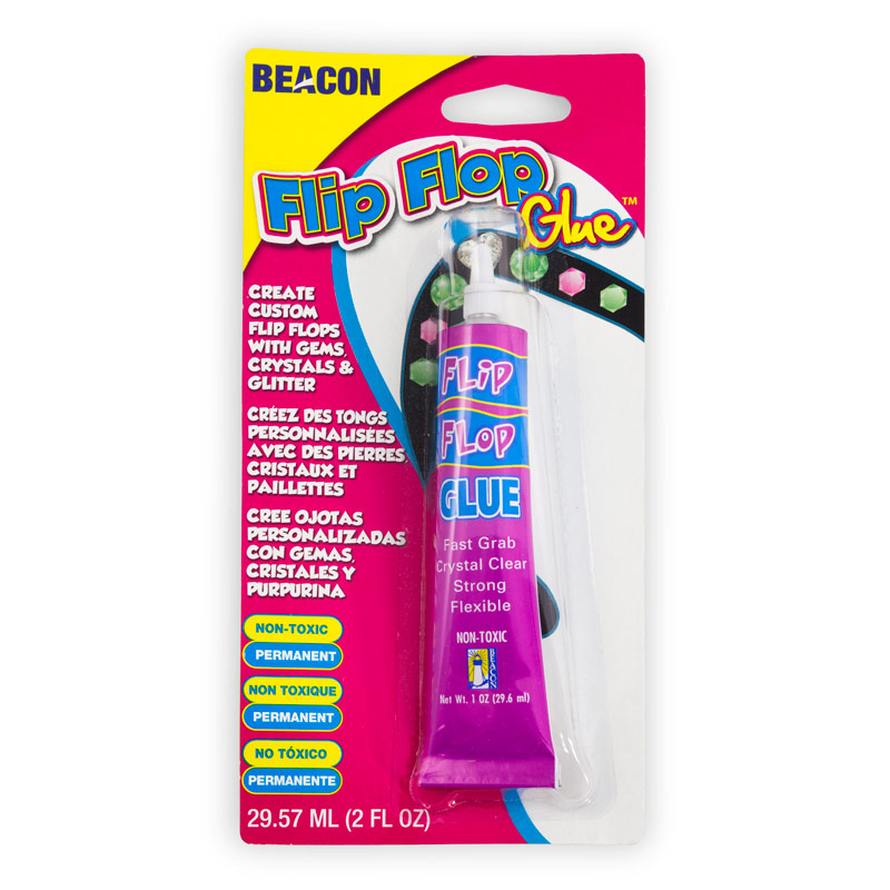 Glue flip flop beaders flip flop glue for What kind of glue to use for jewelry