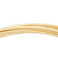 Gold Filled Square Wire Half Hard 20ga (1 Foot)
