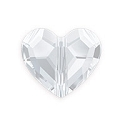 Swarovski Crystal Love Bead 5741 12mm Crystal (1-Pc)