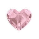 Swarovski Crystal Love Bead 5741 12mm Antique Pink (1-Pc)