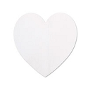 Nickel Silver Large Heart 24 Gauge Blank 1 3/8