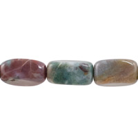 18x9mm Fancy Agate Nugget Bead (16