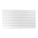 Foam Ring Pad Standard Size White Holds 72 Rings