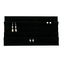 Earring Insert Standard Size 45 pairs Black