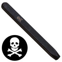 Elite Design 5mm Stamp Skull and Crossbones
