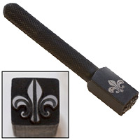 Elite Design 10mm Stamp Fleur de Lis