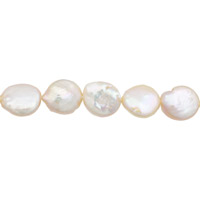 Freshwater Coin Pearls Lavender/Peach 9-10mm (16
