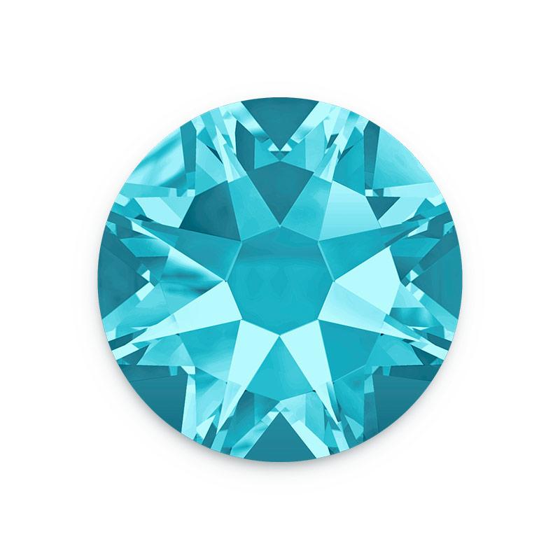 swarovski crystals 2088 7mm ss34 aquamarine flat back