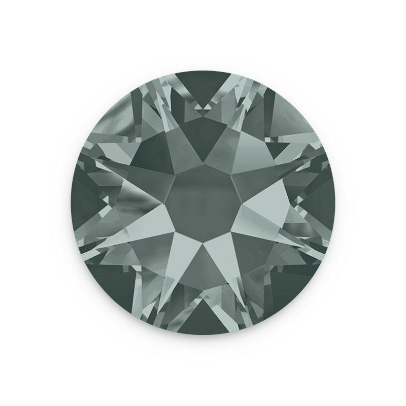 50 Sale On Swarovksi Black Diamond 4mm Rhinestone Flat Backs
