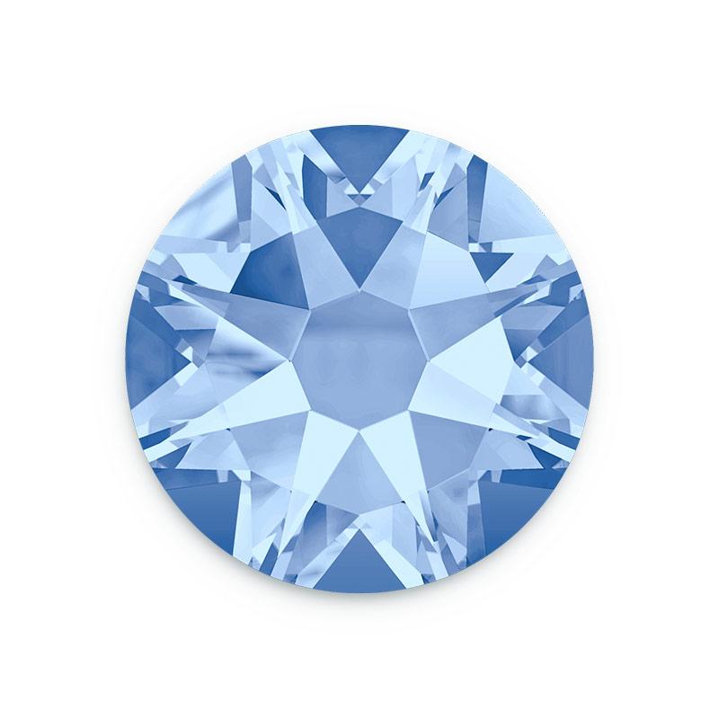 Swarovski Crystals 2088 7mm Ss34 Light Sapphire Flat