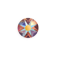 Swarovski 2088 8.5mm Topaz Shimmer Flat Back (1-Pc)