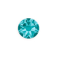 Swarovski 2088 8.5mm Blue Zircon Flat Back (1-Pc)