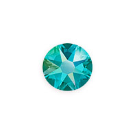 Swarovski 2088 8.5mm Blue Zircon Shimmer Flat Back (1-Pc)