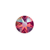 Swarovski 2088 8.5mm Light Siam Shimmer Flat Back (1-Pc)
