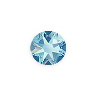 Swarovski 2088 8.5mm Light Sapphire Shimmer Flat Back (1-Pc)