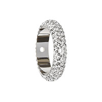 Swarovski 85001 BeCharmed Pavé Thread Ring 14.5mm Crystal (1-Pc)