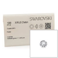 Swarovski 1088 3mm Crystal Xirius Chatons (Factory Pack of 1,440)
