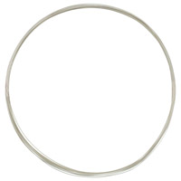 Sterling Silver Wire Half Round Dead Soft 20ga (1-Ft)
