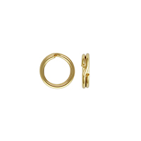 5mm 14k Yellow Gold Split Ring (1-Pc)