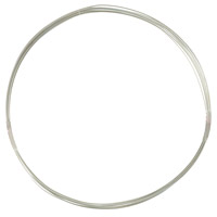 Sterling Silver Filled Wire Round Dead Soft 22ga (1-Ft)