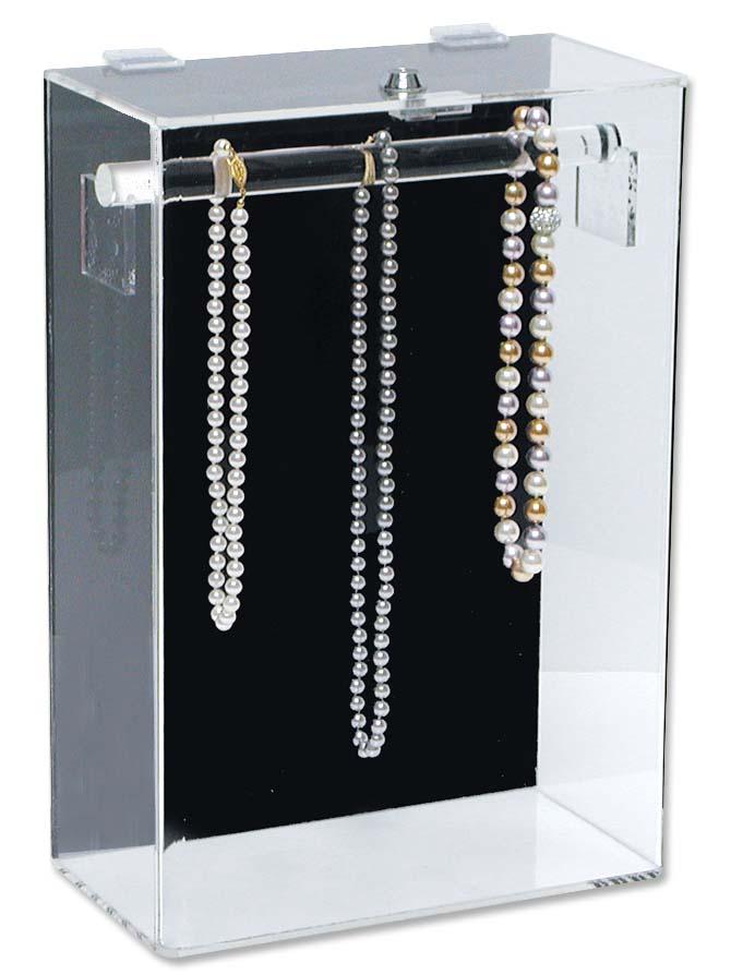 acrylic necklace display case