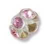 Swarovski Rondelle Bead 5.5mm Light Rose Transparent Plastic (1-Pc)