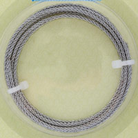 Artistic Wire Stainless Steel Round Braid 12 Gauge (5 Feet)