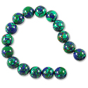 Imitation Azurite Round Beads 10mm (16